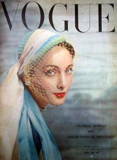 Vogue Paris cover, March 1951.