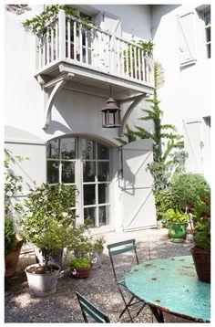 29 The best ideas for roof terrace railing from above - Balkon Schlafzimmer - Garden Deck Juliette Balcony, Backyard Pergola, Patio Roof, Pergola Kits, Pergola Ideas, Balcony Lighting, Outdoor Lighting, Porches, Renovation Facade