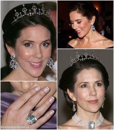 Princess Mary aquamarine jewels