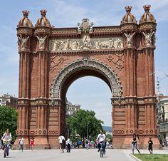 Barcelona Arc de Triomf by Philip1001971, via Flickr