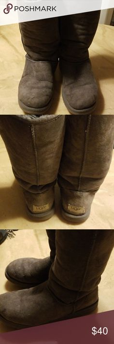 UGG Boots Some fading, wear up or folded, see pictures. UGG Shoes