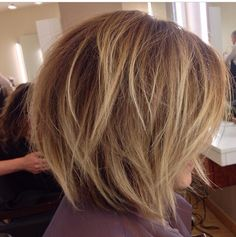 Highlights and longer bob