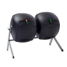 Dual Bin Compost Tumbler (100 gal. Capacity)-60072 at The Home Depot