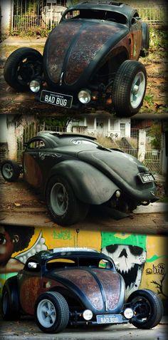 Fusca Rat Hot from Brasil | repinned by www.BlickeDeeler.de