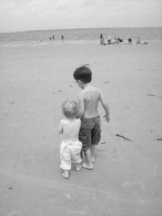Beach brothers.