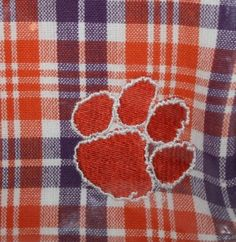 Clemson University Grill Mitt Apron Napkins Tablecloth