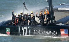Oracle Team USA celebrated its victory on Wednesday– http://www.americascup.com/about/boats