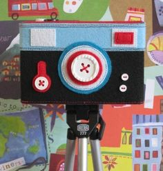 ECO BOXY Felt Camera Case, Featured in Simply Handmade Magazine (Your choice)