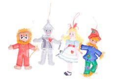 Homemade Christmas Ornament Felt Wizard of Oz