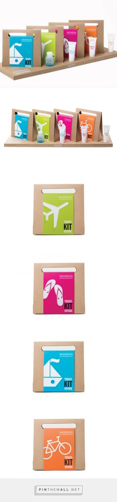 Vagheggi Travel Kit Voyage         on          Packaging of the World - Creative Package Design Gallery - created via https://pinthemall.net
