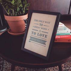 Deze inspirerende quote staat bij op de redactie. #officewisdom