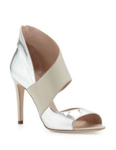 MIU MIU Asymmetric Half-d'Orsay Sandal