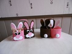 Panier de Pâques lapins Crafts To Sell, Diy And Crafts, Crafts For Kids, Arts And Crafts, Easter Projects, Easter Crafts, American Crafts, Happy Easter, Easter Bunny