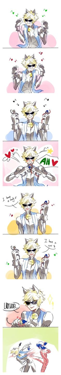 Oh god why... (Miraculous Ladybug, Chat Noir, ppap)
