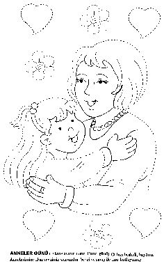 mother's day trace worksheet (2)