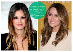The Love Hanger: Ombre Hair vs. Balayage -What's the difference in this gorgeous trend?! Make sure you have someone doing it that knows what they are doing!