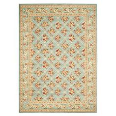 Safavieh Lyndhurst Tihana Traditional Oriental Trellis Rug (Blue/Blue x Room Size Rugs, Rug Size, Trellis Rug, Blue Bedding, Floral Border, Accent Rugs, Joss And Main, Blue Area Rugs, Colorful Rugs