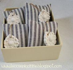 Le cose piccinine: Gessi profumati - qualche idea per bomboniere e regalini