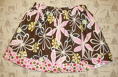 15-minute Girly (Big Sister-Li'l Sister) Skirt Tutorial