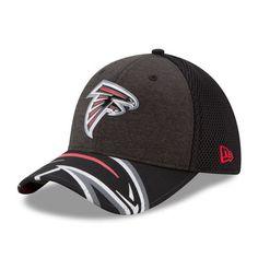 79f481ce54f Men s Atlanta Falcons New Era Black 2017 NFL Draft On Stage 39THIRTY Flex  Hat