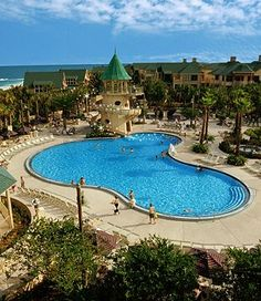 Disney's Vero Beach Resort. In my dream world, we will end our vacation here...