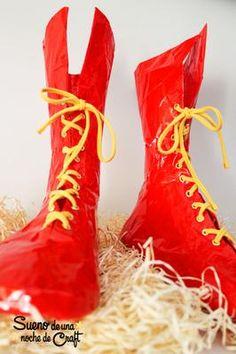 Crea tus propias botas de superhéroe