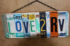 RV Lover Sign Travels With You