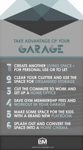 Take Advantage of Your #Garage Space