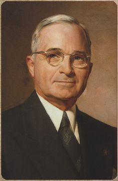 President Harry S. Truman (the only President I ever met in person)