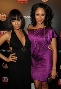 On last week's episode of Tia and Tamera on The Style network, Tia Mowry didn't come off as sympathetic to her sister Tamera Mowry-Housley at all. While Tamera was busy looking for work in the fiel. Beautiful Black Women, Beautiful People, Tia And Tamera Mowry, Celebrity Twins, Famous Sisters, Lab, Family Affair, Celebs, Celebrities