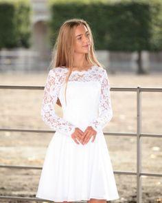 Confirmation Dresses White, Pretty Dresses, Beautiful Dresses, Lisa S, Little White Dresses, Cool Outfits, Fashion Dresses, Prom Dresses, Poses