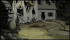 Over the Garden Wall - Ch. 1 Backgrounds