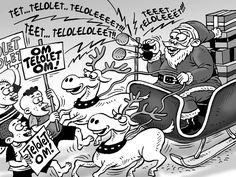 Kartun Benny Rachmadi - Selamat Hari Natal 2016 =  Sumber: Kontan,  Edisi: Desember 2016