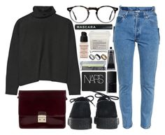 """preparation"" by velvet-ears ❤ liked on Polyvore featuring Marni, Underground, Vetements, Oliver Peoples, NARS Cosmetics, Givenchy, Davines and Just Acces"