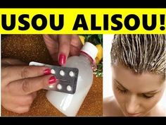 JOGUE ISTO NO CREME de CABELO : ALISA MUITO NA HORA sem QUIMICA sem CHAPINHA! - YouTube Hair Hacks, Chemistry, My Hair, Shampoo, Hair Care, Beauty Hacks, Hair Beauty, Hairstyle, Health