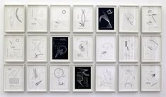 Timo Nasseri, O time thy Pyramids Book 1, 2012, pencil and ink on paper (21 drawings). Courtesy of the artist.