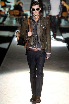 Dsquared2 Fall 2012 Menswear