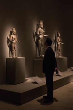 """Lost Kingdoms: Hindu-Buddhist Sculpture of Early Southeast Asia, 5th to 8th Century"" gallery view #LostKingdoms"