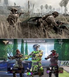 Call of Duty - Then and Now Meme Generator - Imgflip