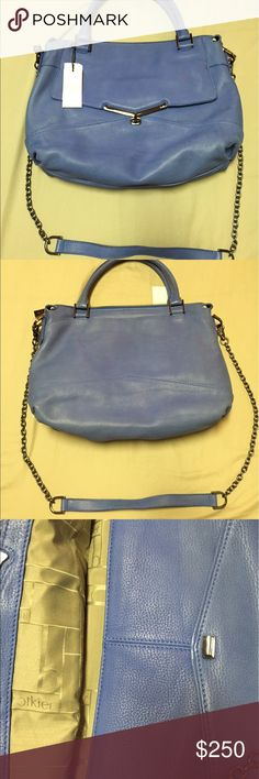 Botkier valentina satchel in French blue NWT Botkier valentina satchel in French blue NWT Botkier Bags Satchels