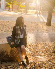 "natsuko-kakuusou: ""#portrait #photograph #photoshoot #japanese #japaneseview #schooluniform #girl #autumn # イチョウ #yellow #架空荘 #kakuusou #制服 #写真好き #tokyocameraclub #team_jp """