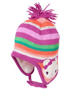 Gymboree Sweet Bear Sweater Hat