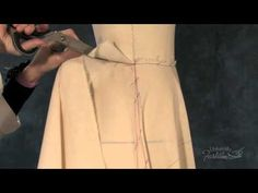 ▶ Draping: Flared Skirt Preview - YouTube University of fashion sample preview
