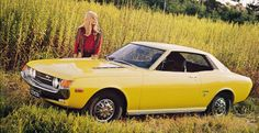 A yellow 1973 Toyota Celica has been my dream car since I was a teenager.