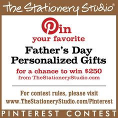 The Stationery Studio Fathers Day Contest