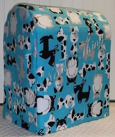 Check out this item in my Etsy shop https://www.etsy.com/listing/227966731/blue-big-dogs-lined-cover-for-kitchenaid