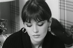 """frenchvintagegallery: """" Actress Isabelle Adjani, 1977 by Claude Azoulay """""""