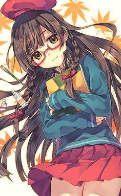 Kawaii girl discovered by on We Heart It Manga Anime Girl, Anime Girls, Anime Neko, Pretty Anime Girl, Beautiful Anime Girl, Anime Girl Hairstyles, Anime Girl Brown Hair, Animé Fan Art, Anime School Girl