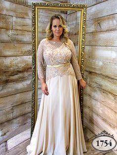 470e06849435 Coleção Ouro - Vestidos Plus Size - Aiza Collection