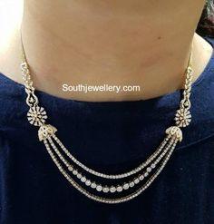 Simple Diamond Necklace photo